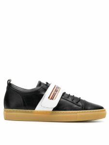 LANVIN low-top touch-strap sneakers - Black
