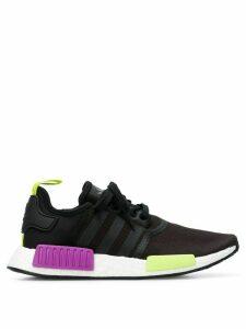adidas NMD R1 neon detailed sneakers - Black