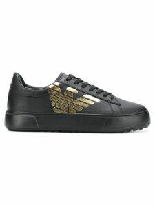 Ea7 Emporio Armani classic sneakers - Black