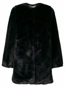 Michael Michael Kors collarless coat - Blue