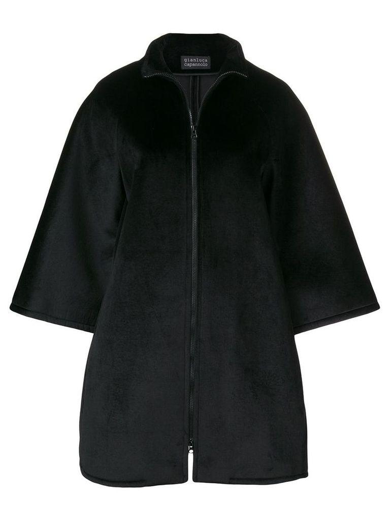 Gianluca Capannolo oversized jacket - Black