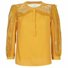 See U Soon  FUEGO  women's Blouse in Yellow