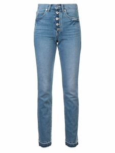 Eve Denim high waisted slim-fit jeans - Blue