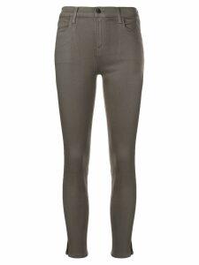 J Brand cropped skinny jeans - Grey