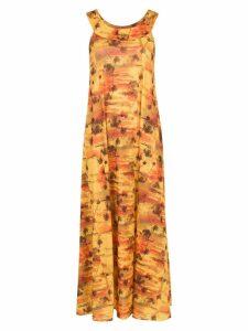 Lygia & Nanny printed Manati dress - Yellow
