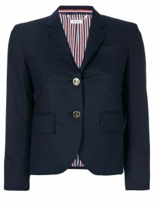 Thom Browne single breasted jacket - Blue