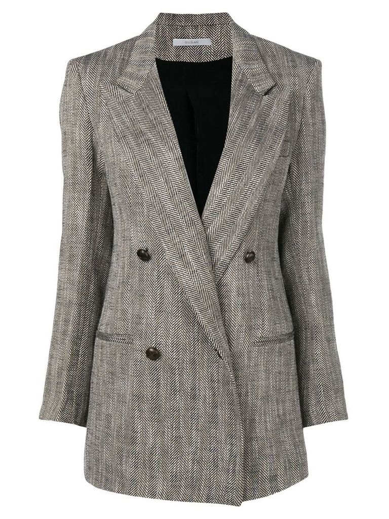 Dusan double buttoned jacket - Grey
