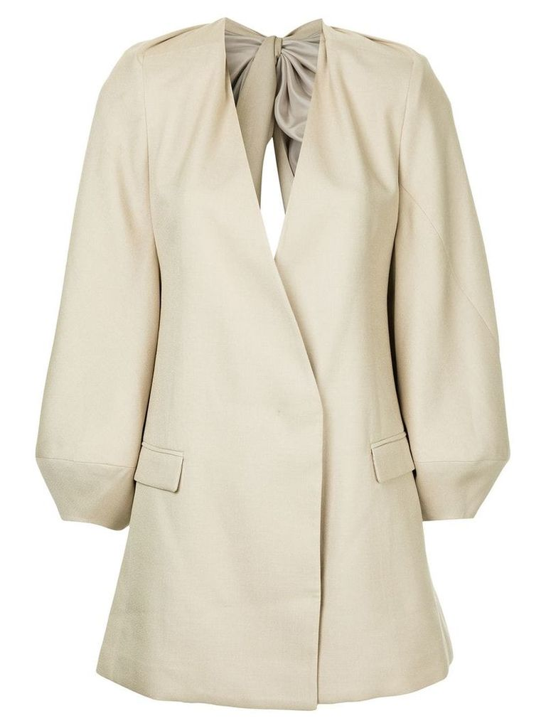 Bianca Spender Curtain Call jacket - Nude & Neutrals
