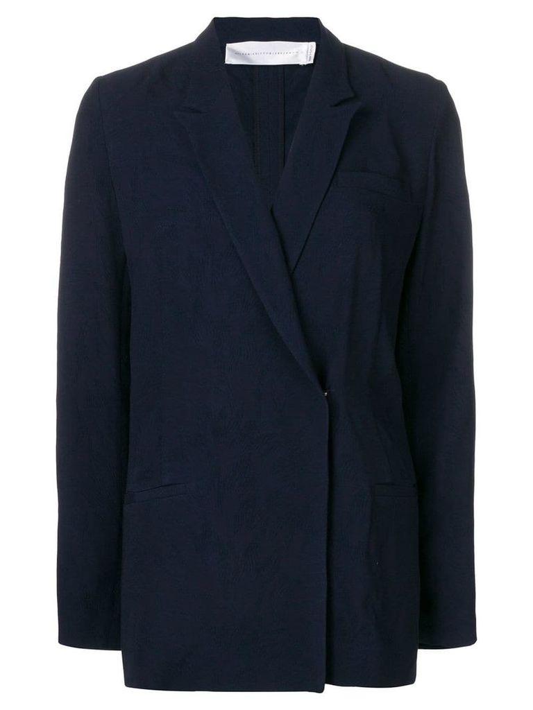 Victoria Victoria Beckham fluid suit jacket - Blue