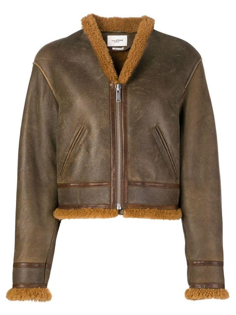 Isabel Marant Étoile Addy jacket - Brown