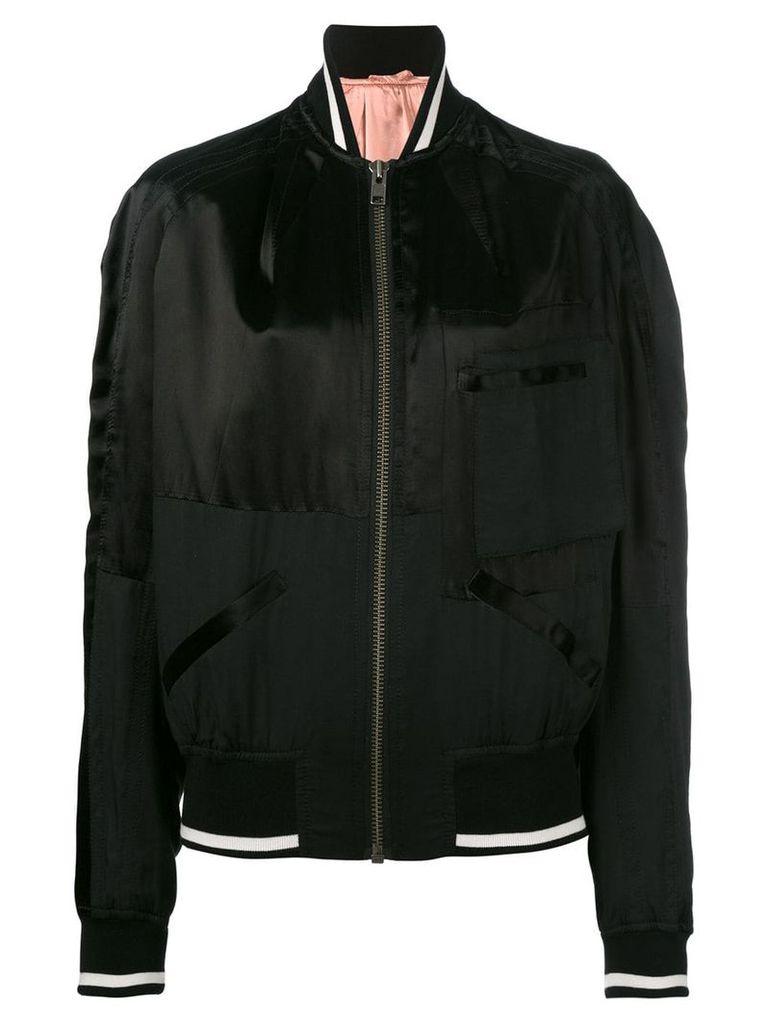 Haider Ackermann classic bomber jacket - Black