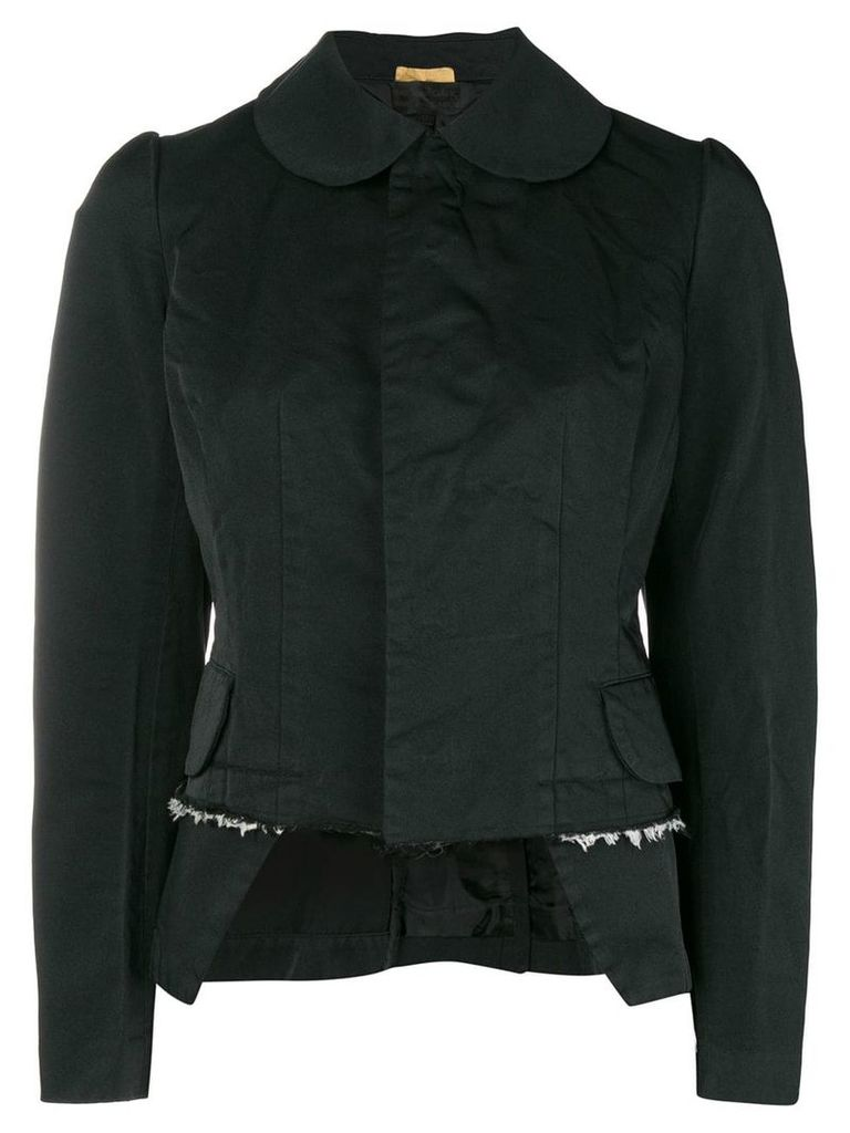Comme Des Garçons Comme Des Garçons deconstructed jacket - Black