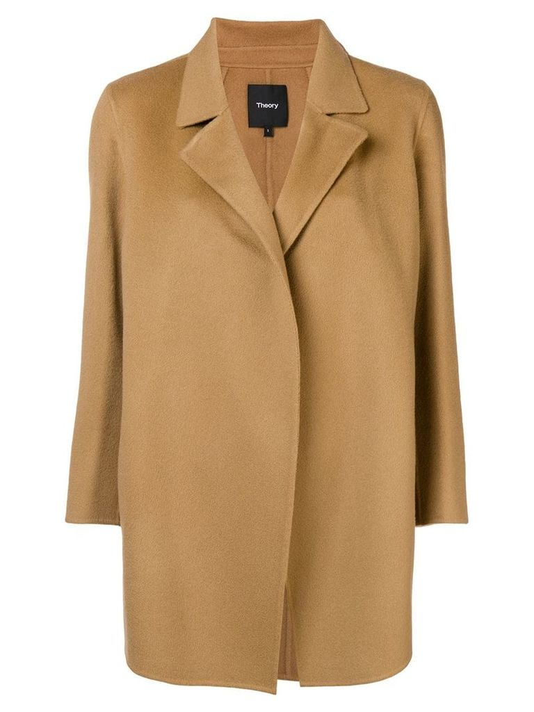 Theory straight fit jacket - Brown