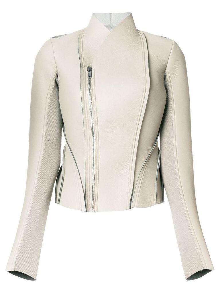 Rick Owens Lilies panelled jacket - Grey