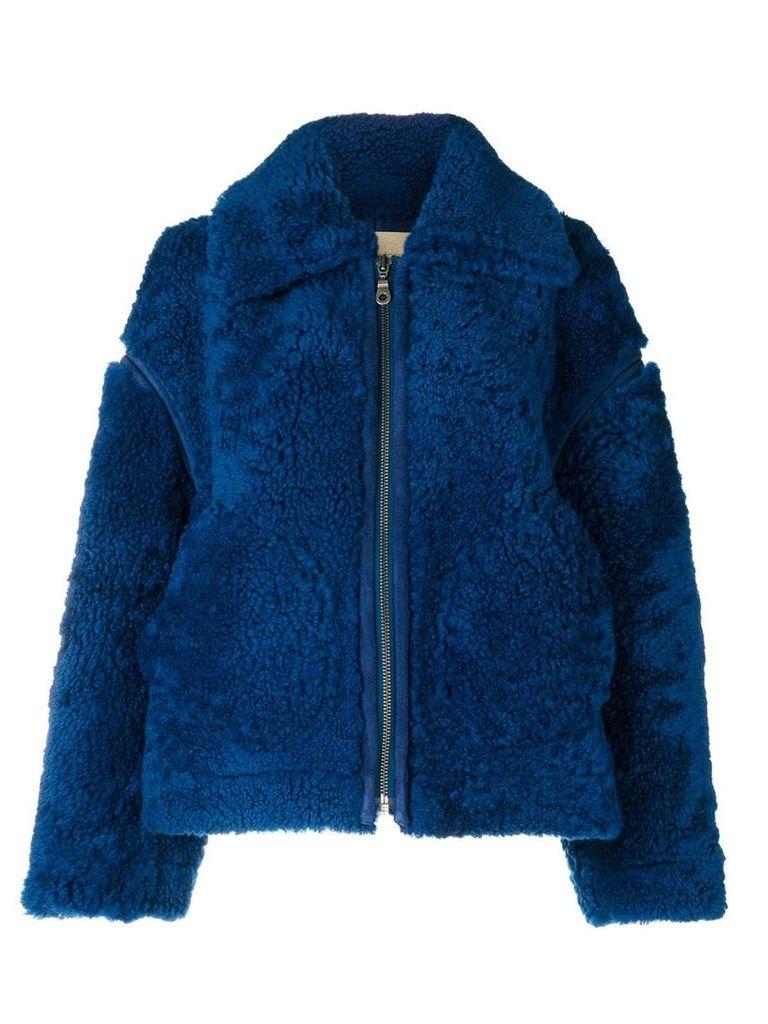 Christian Wijnants zip front jacket - Blue