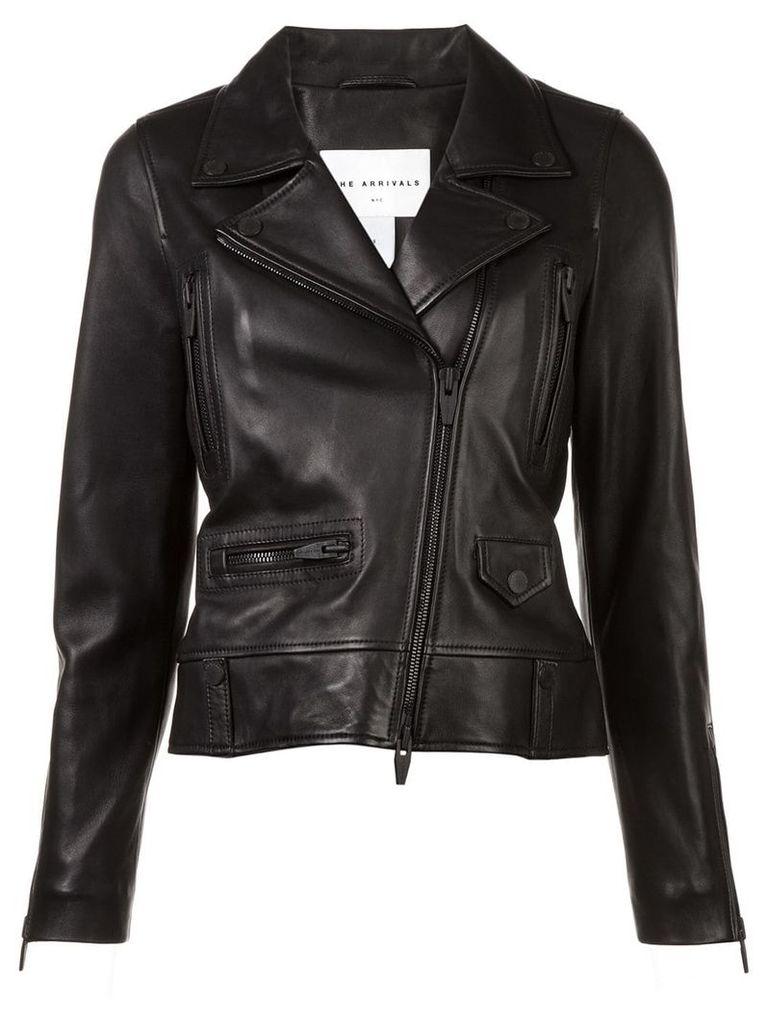 The Arrivals Clo biker jacket - Black
