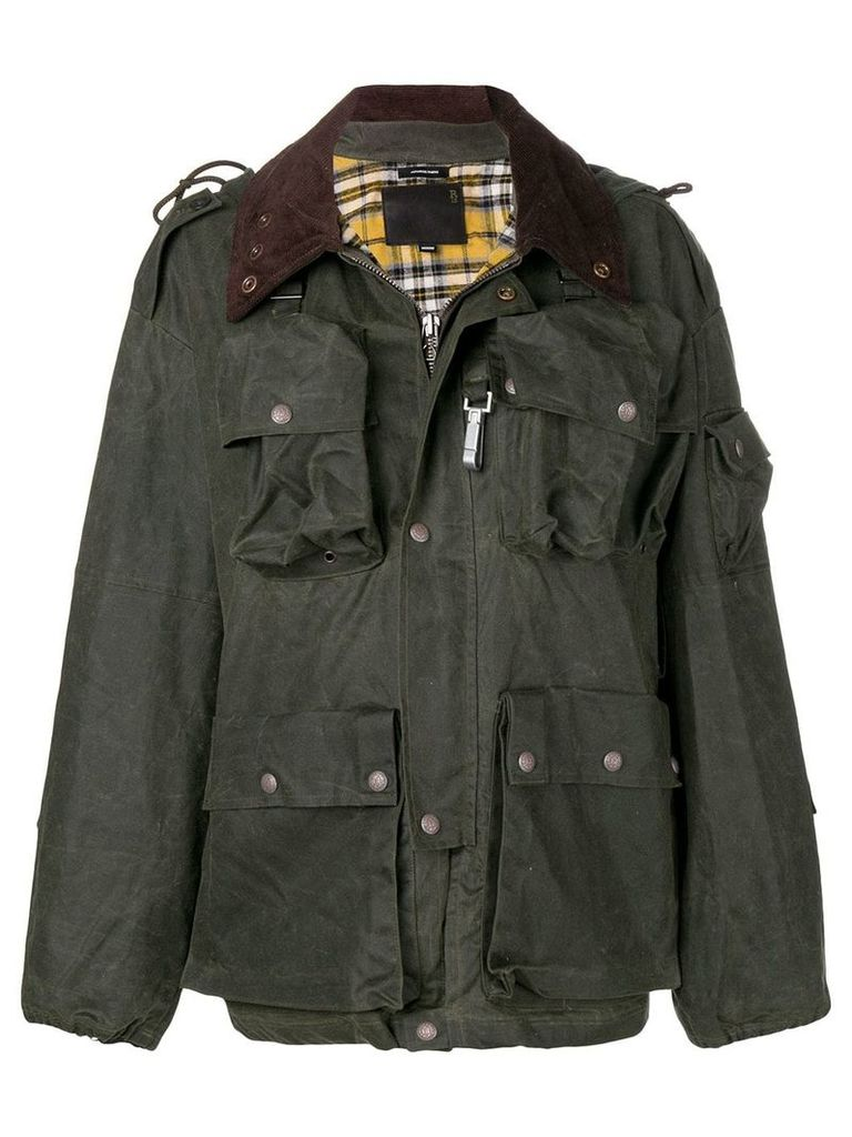 R13 hooded jacket - Green