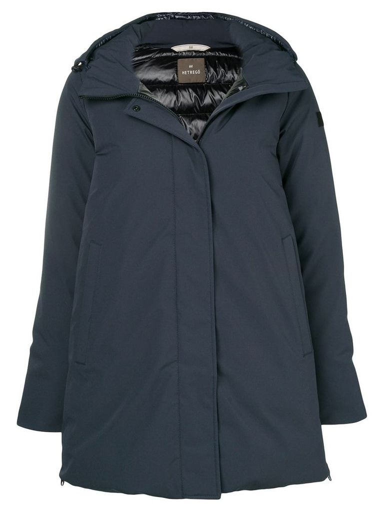 Hetregò zipped hooded jacket - Blue