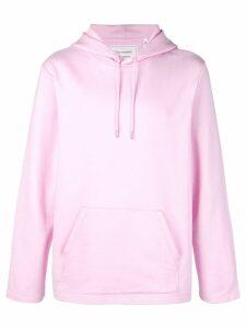 Helmut Lang basic hoodie - PINK