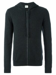 Le Kasha cashmere 'Jaipur' knitted hoodie - Grey