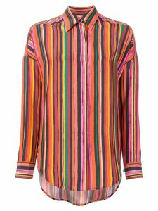 Alberto Biani striped shirt - Yellow