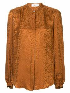 A.L.C. animal print blouse - Brown