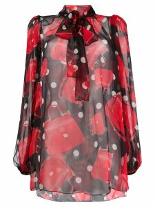 Dolce & Gabbana printed blouse - Red