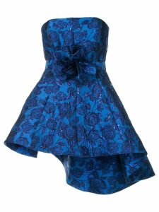 Bambah Bellflower peplum top - Blue