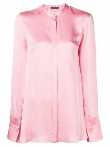 Alexander McQueen loose fit blouse - Pink