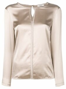 Peserico silk blouse - NEUTRALS