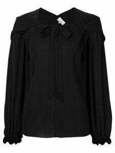 3.1 Phillip Lim Long Full Sleeve Blouse - Black