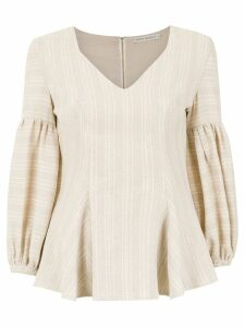 Martha Medeiros 'Gabi' top - NEUTRALS