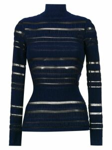 À La Garçonne Ana Ruga long sleeved top - Blue