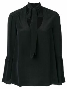 Michael Michael Kors tie neck blouse - Black