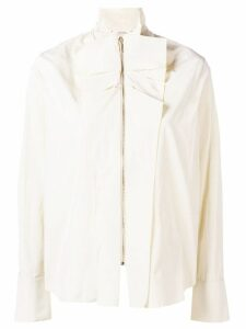 Dorothee Schumacher ruffle detailed blouse - NEUTRALS