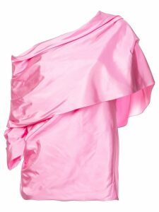 Rosie Assoulin off-the-shoulder blouse - PINK