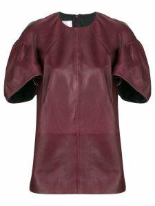 Victoria Victoria Beckham short-sleeve structured top