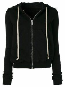 Rick Owens DRKSHDW zip front hoodie - Black