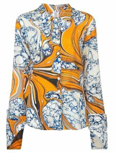 Rosie Assoulin printed shirt - Yellow