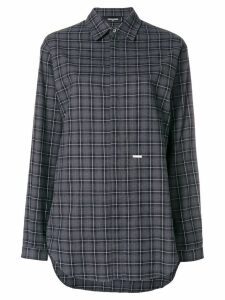 Dsquared2 checked longsleeved shirt - Grey