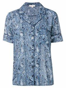 Michael Michael Kors paisley shirt - Blue
