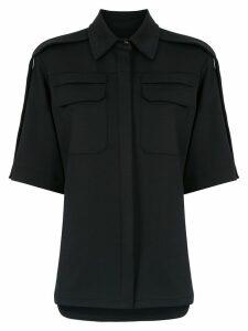 Gloria Coelho short sleeved shirt - Black