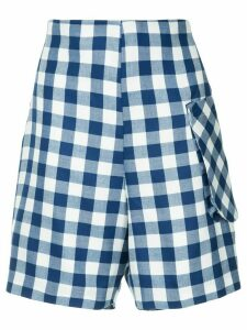 Bambah royal gingham shorts - Blue