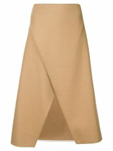 Ports 1961 wrap medium skirt - Brown