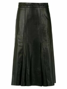 Clé pleated skirt - Black