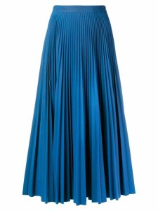 Maison Margiela pleated midi skirt - Blue