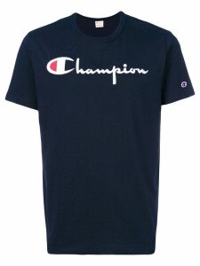 Champion logo print T-shirt - Blue