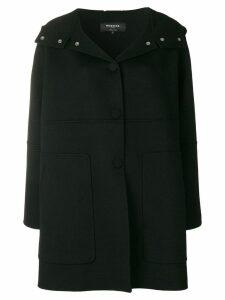 Rochas cocoon coat - Black