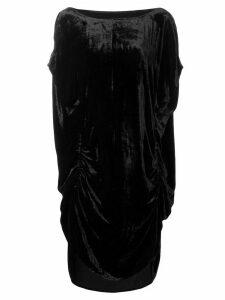 Paula Knorr ruched midi dress - Black