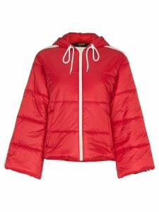 Gucci short padded puffer jacket - Red